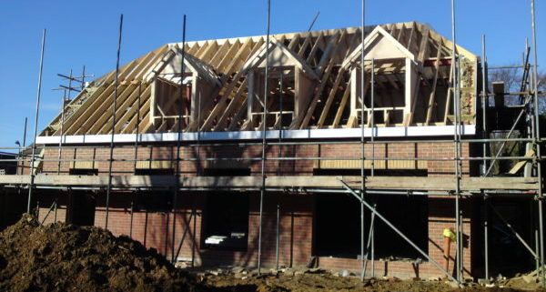 New Build House Waterlooville Rear 1
