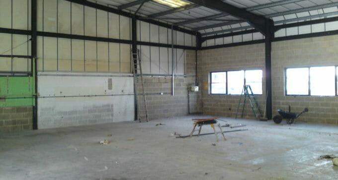 Industrial refurbishment Hampshire