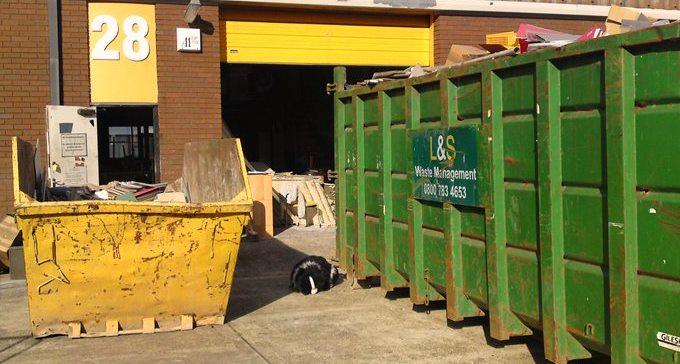 Industrial unit refurbishment, Hampshire