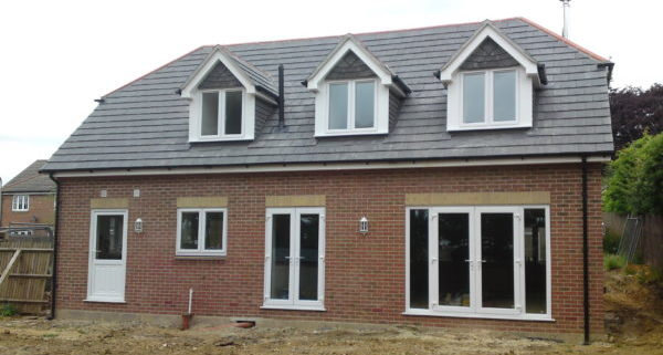 New Build House Waterlooville Rear 2