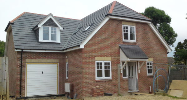 New Build House Waterlooville Front