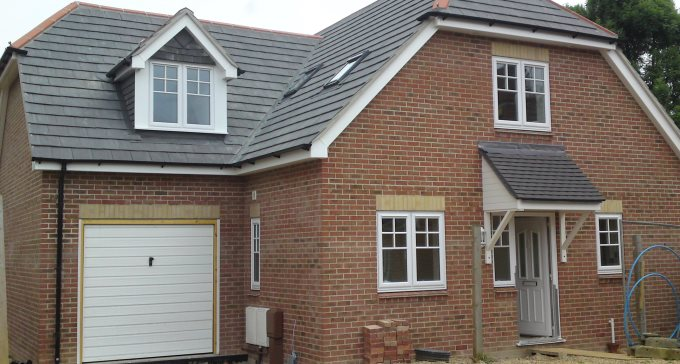 New build house, Waterlooville