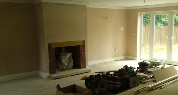 New Build House Waterlooville Lounge