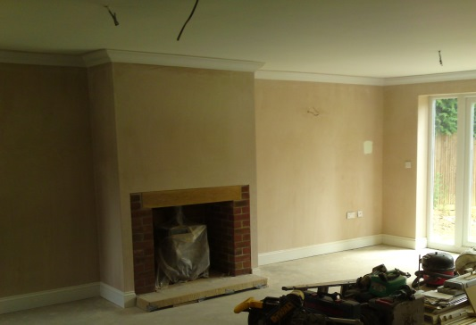 New build house, Waterlooville - lounge