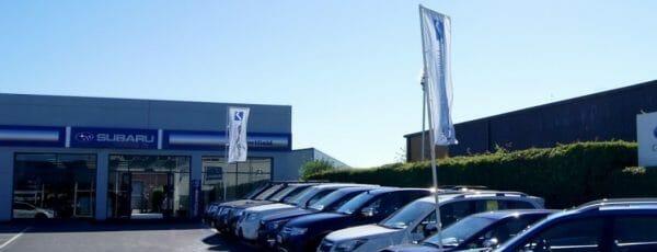 Subaru Showroom Refurbishment
