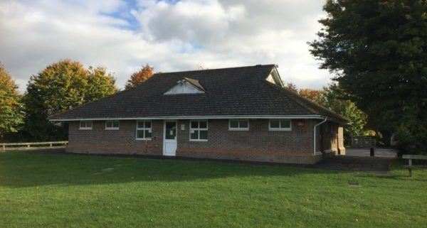 Sports Pavilion Clanfield - Front