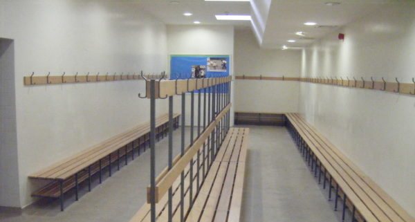 Sports Pavilion Clanfield - Changing Room
