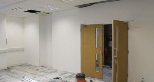 Office Refurbishment Hamble-Le-Rice - Warehouse