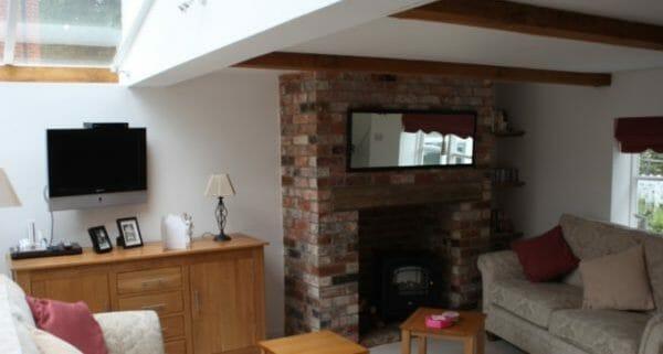 Grade II Refurbishment - Lounge