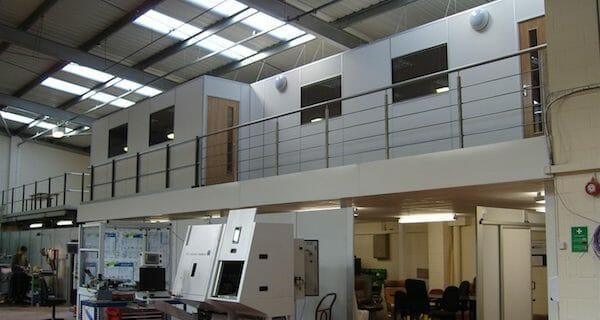Factory alterations - mezzanine