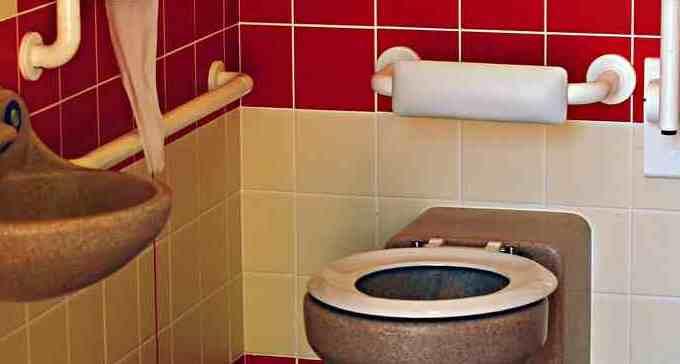 New Build Public Toilets Selborne - Internal