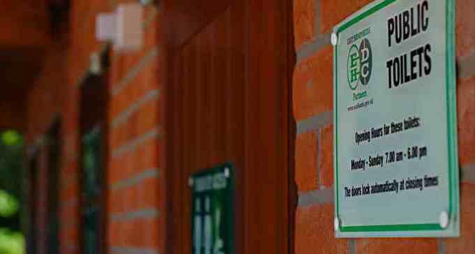 New Build Public Toilets Selborne - External