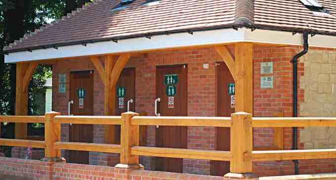 Public Toilets Selborne - Front